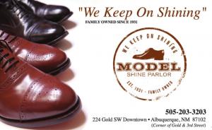 model shoe shine
